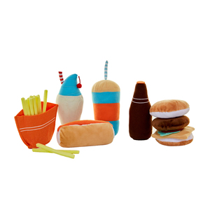 Big Burger Play Food Set