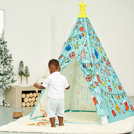 Christmas Tree Teepee