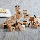 Black & White Alphabet Blocks