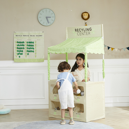 Recycle Play Stand