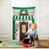 Reversible Pet Store & Coffee House Doorway Playhome